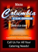 Columbia's Steak Express