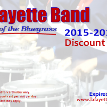 2015 – 2016 Discount Cards
